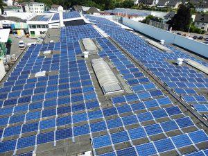 Photovoltaik auf Flachdach