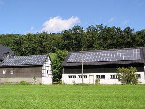 Photovoltaik Bauernhof - Stall